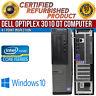 Dell OptiPlex 3010 DT Intel i5 4GB RAM 500GB HDD Win 10 HDMI USB B Grade Desktop