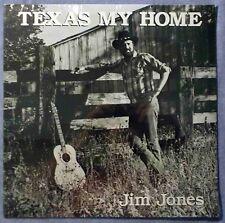 NEW Sealed Jim Jones Texas My Home LP Good Vibrations Recording Studio 1985