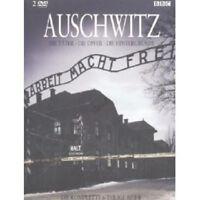"""BBC """"AUSCHWITZ"""" 2 DVD NEW"""