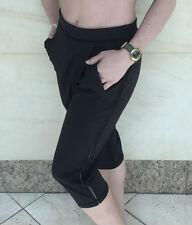 Lululemon RETREAT YOGI CROP size 6 NWT Black Loose Fit