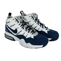 Nike Air Trainer Max 2 '94 White/Midnight Navy-Met Silver Size 8 312543 141