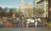 AG(U) Carriages on 59th Street, New York City, New York