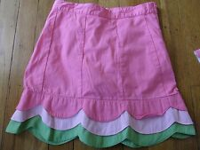 GYMBOREE SIZE 8 YEARS PINK SKIRT FANCY TULIP GARDEN BOTTOM SPRING SUMMER CHURCH