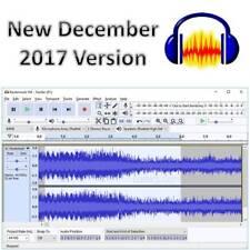 AUDACITY Sound Music Editor Recording SOFTWARE on CD New Dec 2017 Version Studio