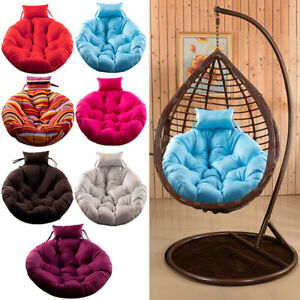 Egg Chair Cushion Thick Padded Indoor Outdoor Swing Hanging Chair Mat Seat Cover