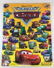 Panini Disney Pixar World Of Cars Collectible Sticker Album 8 stickers & Poster