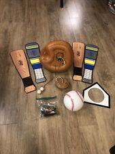 """Hunter 44"""" Baseball Ceiling Fan Reversible Blades Model 21841"""