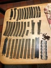Lot of 35 HO Scale Train Tracks, Atlas curves , straights, switches , starter
