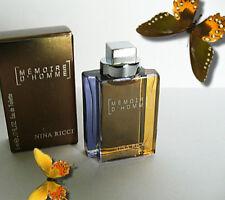 Mignon °*✿ MEMOIRE D' HOMME ✿*°  Nina Ricci edt 5ml  mini perfume miniatur 2002