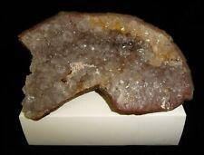 Dino: Quartz Crystal Geode - 416 g - Nice Display