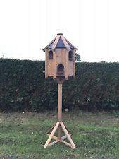 NEW DOVECOTE BIRD HOUSE GARDEN DECOR ACCESSORIES BIRD FEEDER TABLE DOVE HOUSE