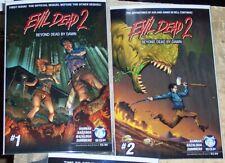 Evil Dead 2 Beyond Dead By Dawn Horror Comic 3 Issue Lot Sam Saimi Deadites