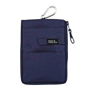Kutsuwa BE009NB stationery apron bag mini BE009NB navy NEW from Japan