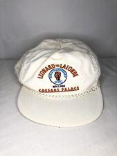 Caesars Palace Original 1988 Sugar Ray Leonard vs Donny Lalonde La Mode Hat