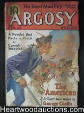 """Argosy"" Feb 27, 1937 Cornell Woolrich Cvr story, Max Brand"