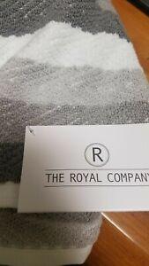MONTGOMERY  Bath Towel Collection 27 x 54 the Royal Company-GREY- 100% cotton(1)
