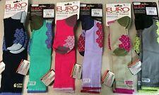 NEW Euro Socks Womens Medium (size 8.5-10) Ski Snowboard Winter Midweight Ret$20