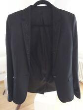 Jacket Damen edel schwarz bestickt 34/ (D36) passt einer S