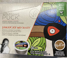 Wolfgang Puck Jamaica Me Crazy Coffee 24 K Cups NEW