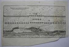 Manöver Alliierten Landsberg Dreißigjähr Krieg Orig Kupferstichkarte 1696 Bayern