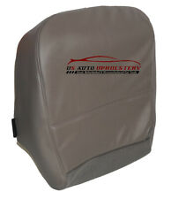 2008 Ford F-350 XL Work Truck Gas Diesel Driver Bottom Vinyl Seat Cover Gray