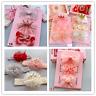 3PCS Newborn Baby Girls Flower Headband Soft Elastic Bow Knot Hair Band Sets