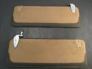 1933 1934 1935 Cadillac LaSalle Interior Sun Visors With Brackets