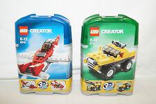 LEGO Creator miniset 6741 6742 Flugzeug NEU NEU OVP