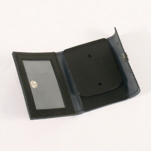 Leather ID and Police Badge Holder LAW103