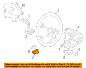 36770S84A01 Acura OEM 98-02CL 01-02 MDX 99-01 TL Cruise Set/Adjust/Resume Switch