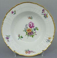Royal Copenhagen Biedermeier Teller, Blumendekor, 19. Jahrhundert
