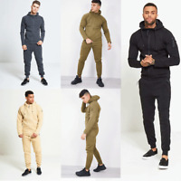 JUSTYOUROUTFIT 2310  NEW BOYS &  MENS ZIP THROUGH SKINNY FIT HOOD TRACKSUIT