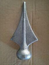 pz.10 lancia in ferro battuto per ringhiere cancelli inferriat art. 125/1