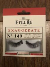 EYLURE 140 EXAGGERATE FALSE STRIP LASHES FASHION GIFT TOWIE CHELSEA PARTY XMAS