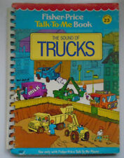 Fisher Price Talk To Me Book #23, The Sound of Trucks, 1979