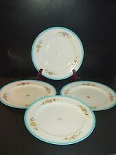 Minton Dinner Plate(s) Hand Painted Flowers