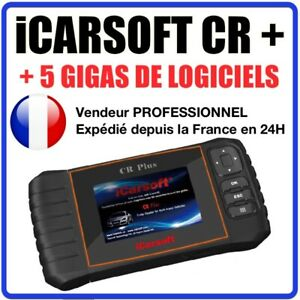 Valise Diagnostique Pro Multimarque Français Obd ObdII Diagnostic ICARSOFT CR+