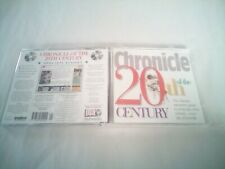 Chronicle of the 20th Century  PC CD ROM Interactive Guide DK multimedia