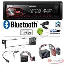 Pioneer MVH-390BT autoradio USB / bluetooth + Kit montaggio per BMW serie 3 E46