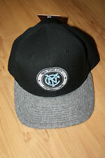 MLS New York City Football Club NEW Fitted Mitchell Ness Baseball Cap Hat 7 3/8""