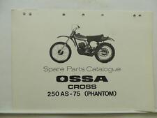 Ossa Cross 250 AS-75 Phantom Spare Parts Catalog L7940