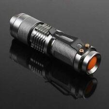 2X 7W 300LM Mini CREE LED Flashlight Torch Adjustable Focus Zoom Li...