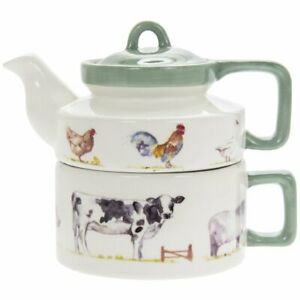 TEA FOR ONE COUNTRY LIFE FARMYARD LESSER AND PAVEY