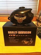 GENUINE HARLEY DAVIDSON 115TH ANNIVERSARY MINI HOG BANK P/N # HDX-99100