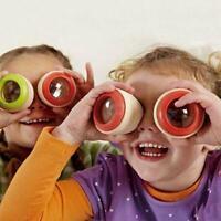 Wooden Educational Magic Kaleidoscope Children Kids Toy Development Interes N2P4