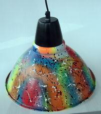 LAMPE industrielle  sculpture bombe pop street art graffiti PyB french painting
