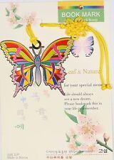 Traditional Korean reader Metal Bookmark - butterfly02