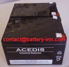 Batterie 12v pour onduleur APC Smart-UPS 1000 BX120 (SU1000BX120)  (RBC6)