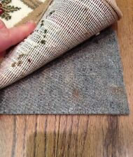 10'x 16' H Plus Shaw Non Slip Felt and Rubber Rug Pad for Hard Floors