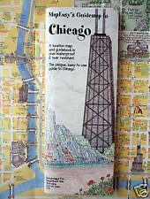 NEW 2006 MAP of CHICAGO, IL, MapEZ Guide+Details of Magnif.Mile,Shoreline & CTA